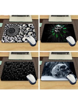 Skull Gaming Rectangle Mouse Pad