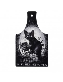 Black Cat's Witches Kitchen Cutting Board